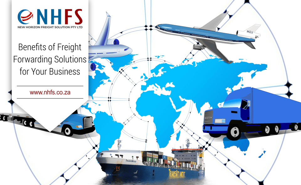 Blog image of World Map with freight solutions