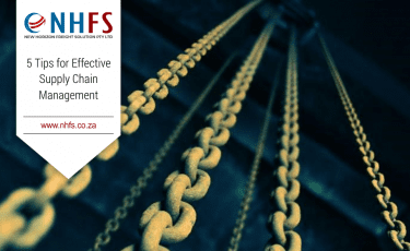 NHFS brings you 5 tips for efficient supply chain management