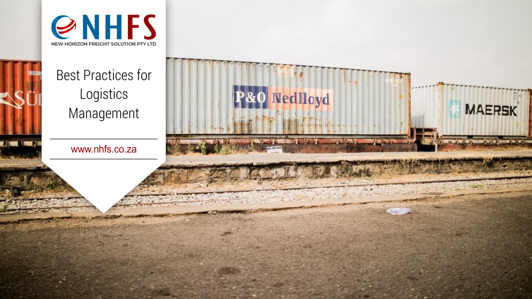 Best Practices for Logistics Management   New Horizon Freight Solutions